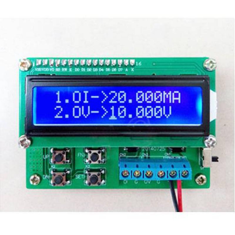 4 20ma Signal Generator Circuit : Programmable ma v signal generator circuit diy