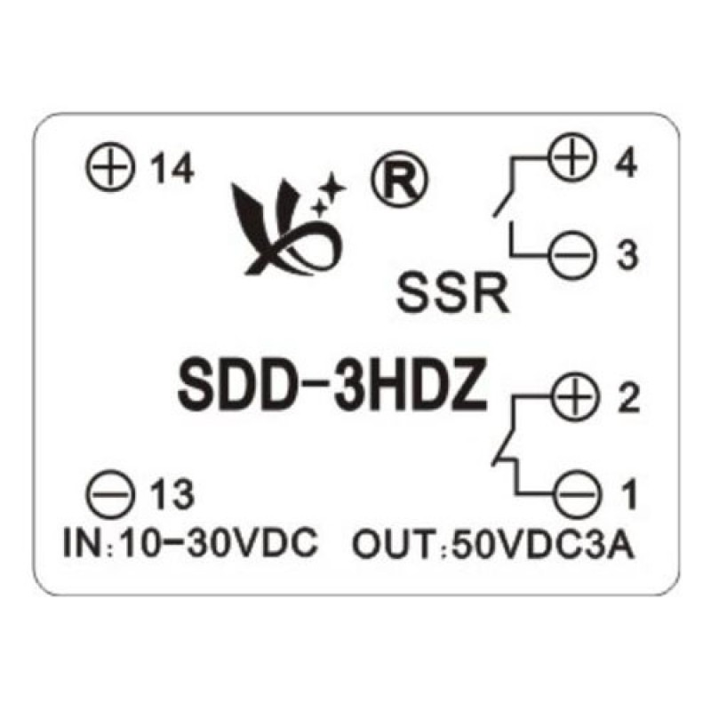dc solid state relay ssr module with socket