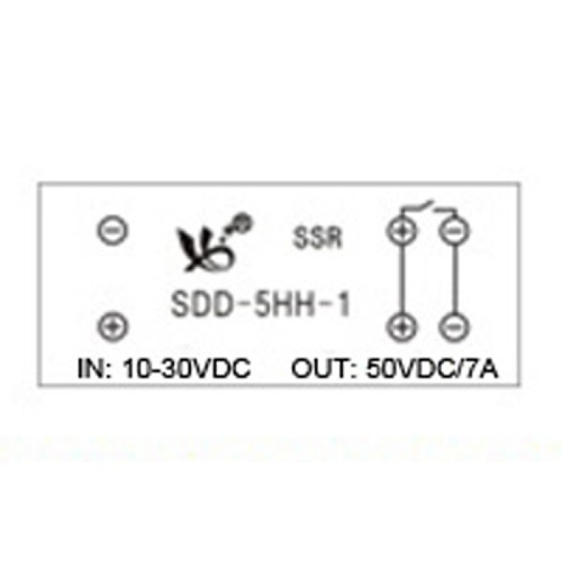 5a no ssr module with din rail socket