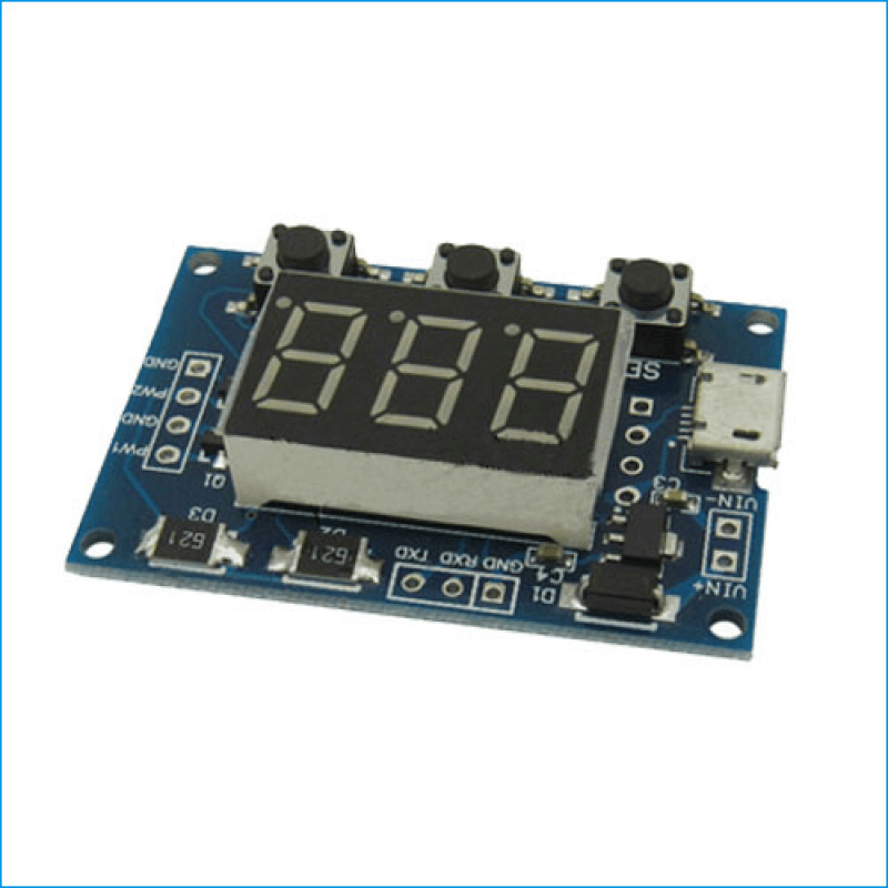 frequency pwm pulse signal generator circuit module. Black Bedroom Furniture Sets. Home Design Ideas