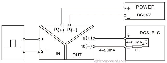 Voltage To Current Converter Circuit Diagram